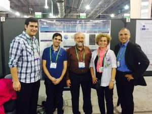 Jefferson Team Standing in Front of Their Poster at the AACR Annual Meeting in 2015
