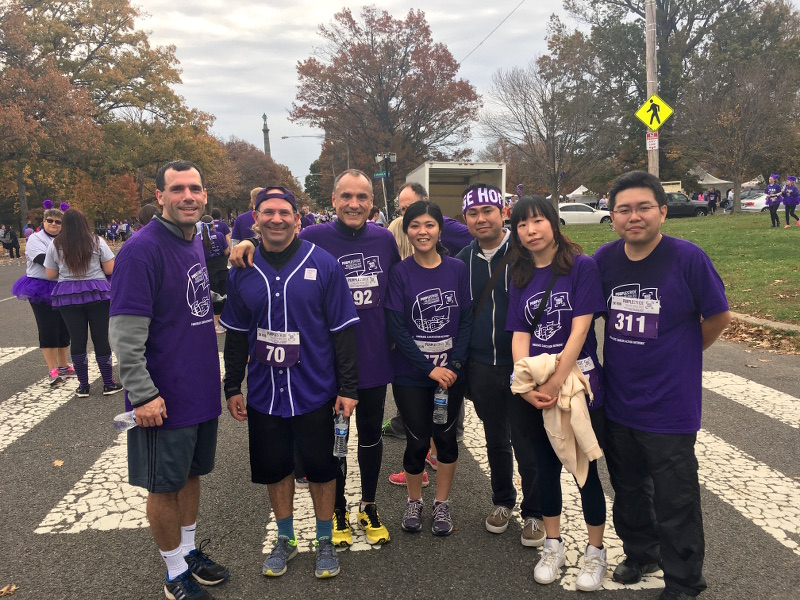 Purple stride, Nov 2015